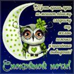 Ночь яркая луна спи