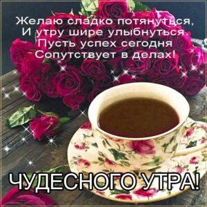 доброе утро чудесного солнечного дня, прекрасное утро, ласкового утра, радостного утра, приятного утра, энергичного утра, феерического утра, насыщенного радостью утра