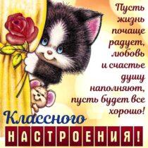 хорошего настроения, чудесного настроения, позитивного настроения, картинки улыбки